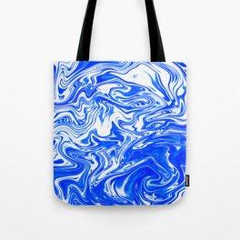 Marbled XX Tote Bag