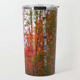 Minnesota Autumn Colors in the Northwoods Travel Mug
