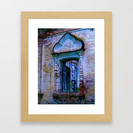 Window The Ensemble of the Monastery of Deposition of the Robe (16th - 20th centuries) Framed Art Print