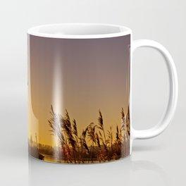 Dutch Windmills of Kinderdijk at sunrise Coffee Mug