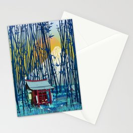 On my way to Mount Fuji Stationery Cards