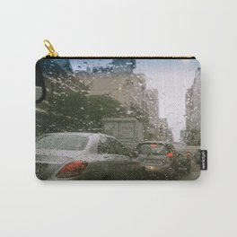 Cape Town traffic on a rainy day Carry-All Pouch