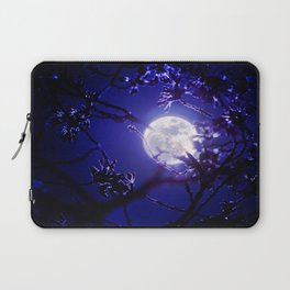 Dark Night Moonlight Laptop Sleeve