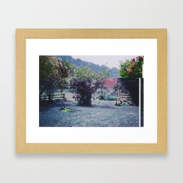 Two Toned Framed Art Print