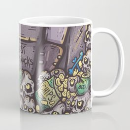 THE GHOST WHO SNACKS Coffee Mug