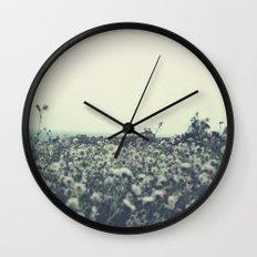 Sicily flowers Wall Clock