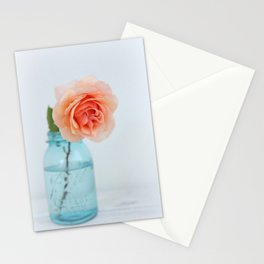 Rose in a Jar Stationery Cards