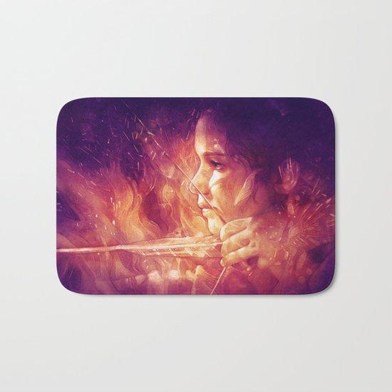 Catching Fire Bath Mat