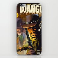 django iPhone & iPod Skins featuring Django by Don Kuing