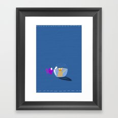 Rock 'n' Bowl Framed Art Print