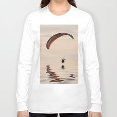 Powered paraglider Long Sleeve T-shirt