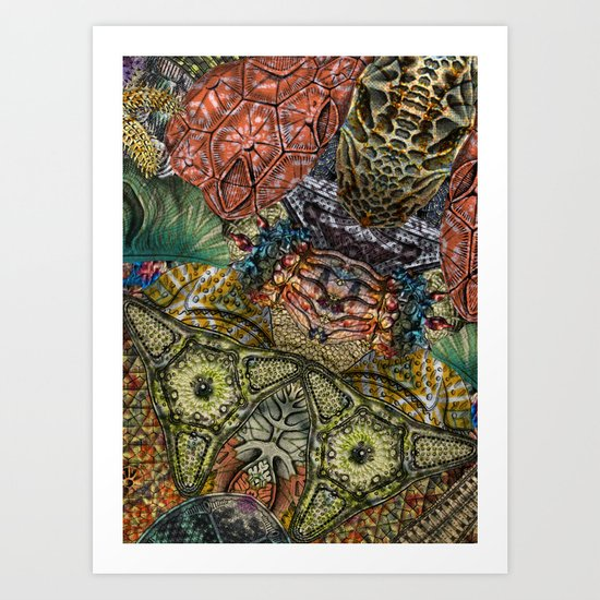 Psychedelic Botanical 1 Art Print