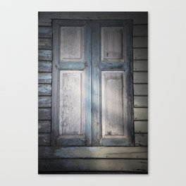 Mysterious Window Canvas Print