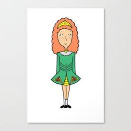 Irish Dancer Canvas Print