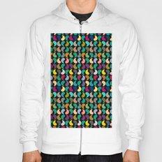 Seamless Colorful Geometric Shapes Pattern Hoody