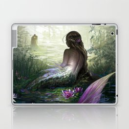 Little mermaid - Lonley siren watching kissing couple Laptop & iPad Skin