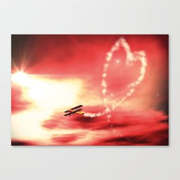 Demonstration of Love Canvas Print