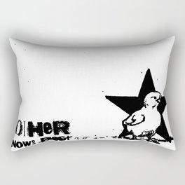 Mother Knows...  Rectangular Pillow