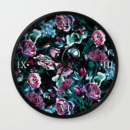 Dark Romance Wall Clock