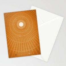 Solar System Hot Stationery Cards