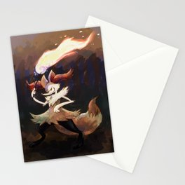 Mystic Fire Stationery Cards