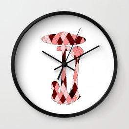 Parasol mushroom Wall Clock