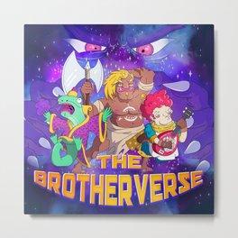 The Brotherverse Podcast Metal Print