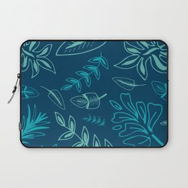 Tropical Leafs Laptop Sleeve