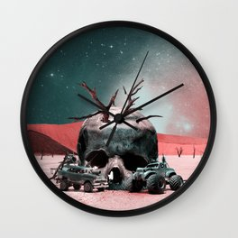 SKULL ART Wall Clock