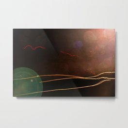 LIFE PASSING BY Metal Print