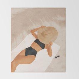 That Summer Feeling II Throw Blanket