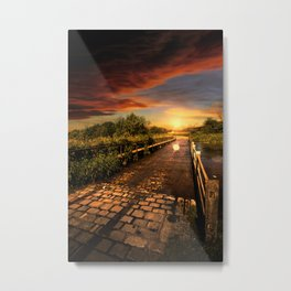 The Old Ford Metal Print