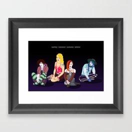 Season Sisters Framed Art Print