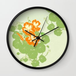 The Green and the Orange Wall Clock