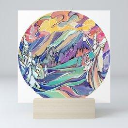Ripple Ridge, Kootenay Pass Mini Art Print