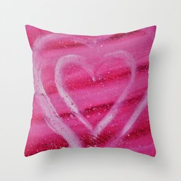 DANCING HEART Throw Pillow