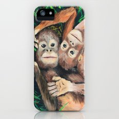 Baby Orangutans Slim Case iPhone (5, 5s)