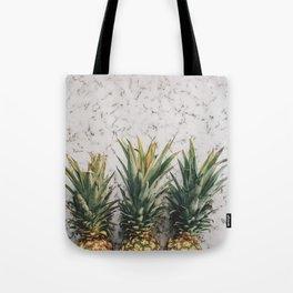 Three ananas Tote Bag
