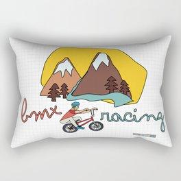 BMX Racing Rectangular Pillow
