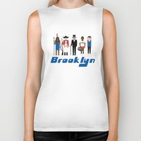brooklyn Biker Tanks featuring Brooklyn  by harlembrooklyn