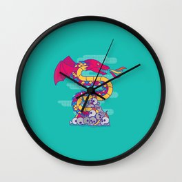 Burn Them All Wall Clock
