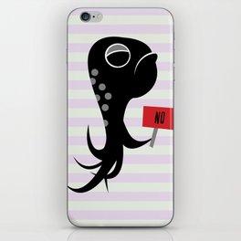 Squid of No iPhone Skin