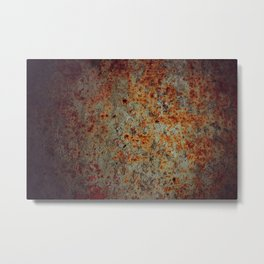 Oxid Metal Print