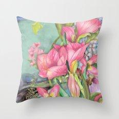 Macro Flower #21 Throw Pillow