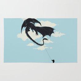 play with dragon Rug