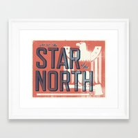 minnesota Framed Art Prints featuring Minnesota by Erik Anthony Hamline