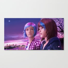 Life is Strange - With You Canvas Print