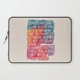 Charles Bukowski Laptop Sleeve