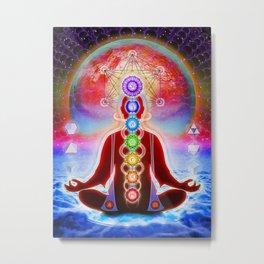 In Meditation Metal Print