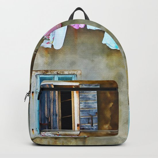 Clothes Drying Backpack